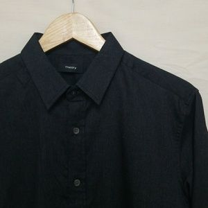 Theory Button Down M
